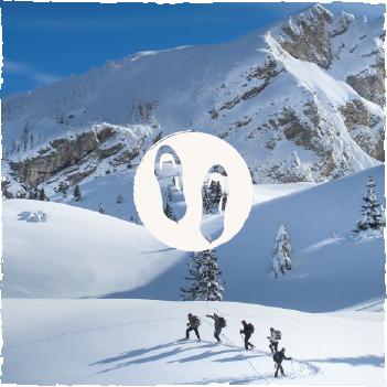 Randonnées en raquettes dans les Hautes Alpes